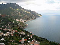 Above the Amalfi Coast, Italy