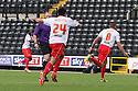 James Dunne of Stevenage scores the winner nd celebrates<br />  - Notts County v Stevenage - Sky Bet League One - Meadow Lane, Nottingham - 24th August 2013<br /> © Kevin Coleman 2013