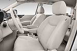Front seat view of a 2015 Nissan Quest s 5 Door Mini Van front seat car photos