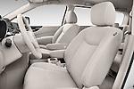 Front seat view of a 2015 Nissan Quest s 5 Door Mini Van front seat car photos