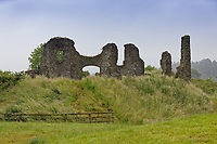 The castle at Newcastle Emlyn
