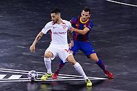 9th October 2020; Palau Blaugrana, Barcelona, Catalonia, Spain; UEFA Futsal Champions League Finals; FC Barcelona versus MFK KPRF;  Saiotti