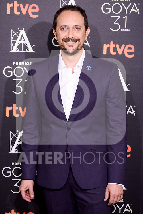 Luis Callejo attends to the 2017 Goya Awards Candidates Cocktail at Ritz Hotel in Madrid, Spain. January 12, 2017. (ALTERPHOTOS/BorjaB.Hojas)