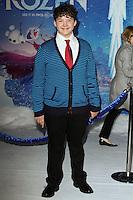 "HOLLYWOOD, CA - NOVEMBER 19: Aedin Mincks at the World Premiere Of Walt Disney Animation Studios' ""Frozen"" held at the El Capitan Theatre on November 19, 2013 in Hollywood, California. (Photo by David Acosta/Celebrity Monitor)"