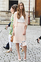 Sophie Hulme arrives for the VIP preview of the Royal Academy of Arts Summer Exhibition 2016
