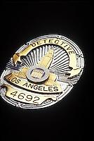 Los Angeles Detective Badge