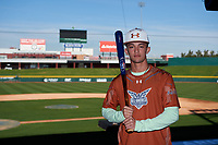 Christopher Lugo during the Under Armour All-America Tournament powered by Baseball Factory on January 17, 2020 at Sloan Park in Mesa, Arizona.  (Zachary Lucy/Four Seam Images)