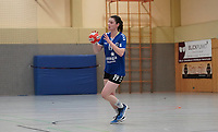Megan Grote (Walldorf) im Angriff - Mörfelden-Walldorf 09.02.2020: TGS Walldorf vs. TGB Darmstadt, Sporthalle