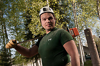 Erik Johnson of Great Alaska Tree Company in Fairbanks, AK