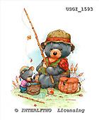 GIORDANO, CUTE ANIMALS, LUSTIGE TIERE, ANIMALITOS DIVERTIDOS, Teddies, paintings+++++,USGI1593,#AC# teddy bears
