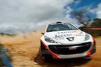 Philip Cracco and Wim Soenens, Peugeot 207 S2000 during WRC Vodafone Rally de Portugal 2013, in Algarve, Portugal on April 11, 2013 (Photo Credits: Paulo Oliveira/DPI/NortePhoto)