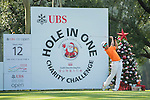 Humphrey Wong of Hong Kong tees off the 12th hole during the 58th UBS Hong Kong Golf Open as part of the European Tour on 09 December 2016, at the Hong Kong Golf Club, Fanling, Hong Kong, China. Photo by Marcio Rodrigo Machado / Power Sport Images