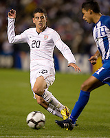 Alejandro Bedoya.USA vs Honduras, Saturday Jan. 23, 2010 at the Home Depot Center in Carson, California. Honduras 3, USA 1.