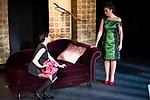 "Rebeca Matellan and Lola Baldrich during the theater play of ""Addio del Passato"" at Fernan Gomez Theater in Madrid. March 15, 2017. (ALTERPHOTOS/Borja B.Hojas)"