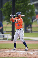 Houston Astros Andres Santana (31) during a Minor League Spring Training Intrasquad game on March 28, 2018 at FITTEAM Ballpark of the Palm Beaches in West Palm Beach, Florida.  (Mike Janes/Four Seam Images)
