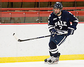 Matt Killian (Yale - 7) - The Harvard University Crimson defeated the visiting Yale University Bulldogs 8-2 in the third game of their ECAC Quarterfinal matchup on Sunday, March 11, 2012, at Bright Hockey Center in Cambridge, Massachusetts.