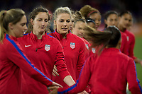 Orlando City, FL - Wednesday March 07, 2018: Julie Ertz, USWNT during a 2018 SheBelieves Cup match between the women's national teams of the United States (USA) and England (ENG) at Orlando City Stadium.