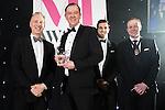 © Joel Goodman - 07973 332324 . 02/03/2017 . Manchester , UK . Trainee/Paralegal of the Year , Jonathan Wall of Burton Copeland . The Manchester Legal Awards at the Midland Hotel . Photo credit : Joel Goodman