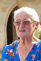 Rose Noelle Borde owner couvent des jacobins saint emilion bordeaux france