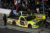 2017 Camping World Truck - NextEra Energy Resources 250<br /> Daytona International Speedway, Daytona Beach, FL USA<br /> Friday 24 February 2017<br /> Matt Crafton, pit stop<br /> World Copyright: Michael L. Levitt/LAT Images