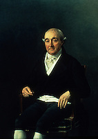 Jacques Louis David:  Portrait of Mr. Cooper Penrose.   Timken Gallery-San Diego. Reference only.