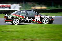 Round 9 of the 1991 British Touring Car Championship. #23 Kieth O'dor (GB). Nissan Janspeed Racing. Nissan Primera eGT.