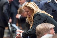Amtseinfuehrung der neuen Berliner Polizeipraesidentin Dr. Barbara Slowik (im Bild) am Mittwoch den 13.Juni 2018 durch Innensenator Andreas Geisel.<br /> 13.6.2018, Berlin<br /> Copyright: Christian-Ditsch.de<br /> [Inhaltsveraendernde Manipulation des Fotos nur nach ausdruecklicher Genehmigung des Fotografen. Vereinbarungen ueber Abtretung von Persoenlichkeitsrechten/Model Release der abgebildeten Person/Personen liegen nicht vor. NO MODEL RELEASE! Nur fuer Redaktionelle Zwecke. Don't publish without copyright Christian-Ditsch.de, Veroeffentlichung nur mit Fotografennennung, sowie gegen Honorar, MwSt. und Beleg. Konto: I N G - D i B a, IBAN DE58500105175400192269, BIC INGDDEFFXXX, Kontakt: post@christian-ditsch.de<br /> Bei der Bearbeitung der Dateiinformationen darf die Urheberkennzeichnung in den EXIF- und  IPTC-Daten nicht entfernt werden, diese sind in digitalen Medien nach §95c UrhG rechtlich geschuetzt. Der Urhebervermerk wird gemaess §13 UrhG verlangt.]