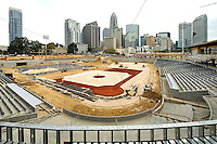 BB&T Ballpark Construction Charlotte, NC