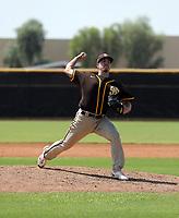 Ryan Bergert - 2021 Arizona League Padres (Bill Mitchell)