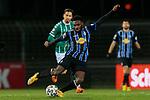 13.01.2021, xtgx, Fussball 3. Liga, VfB Luebeck - SV Waldhof Mannheim emspor, v.l. Joseph Boyamba (Mannheim, 9) <br /> <br /> (DFL/DFB REGULATIONS PROHIBIT ANY USE OF PHOTOGRAPHS as IMAGE SEQUENCES and/or QUASI-VIDEO)<br /> <br /> Foto © PIX-Sportfotos *** Foto ist honorarpflichtig! *** Auf Anfrage in hoeherer Qualitaet/Aufloesung. Belegexemplar erbeten. Veroeffentlichung ausschliesslich fuer journalistisch-publizistische Zwecke. For editorial use only.