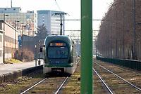 Cinisello Balsamo (Milano, periferia nord). Tram