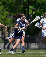 Yale University attacker Jen DeVito (33). Boston College defeated Yale University, 16-5, at Newton Campus Field, April 28, 2012.
