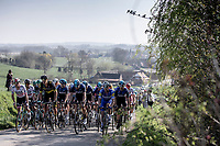 Peloton up the Knokteberg.  <br /> <br /> 62nd E3 Harelbeke 2019 (1.UWT)<br /> Harelbeke – Harelbeke: 203,9km<br /> ©kramon