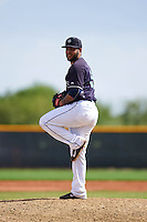 Seattle Mariners pitcher Marvin Gorgas (59) during an instructional league game against the Texas Rangers on October 5, 2015 at the Surprise Stadium Training Complex in Surprise, Arizona.  (Mike Janes/Four Seam Images)