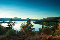 Ben Lomond, the Luss Hills and Loch Lomond from Craigie Fort above Balmaha, Loch Lomond and the Trossachs National Park, Stirlingshire