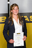 Girls Rowing winner Kayla Pratt from Epsom Girls Grammar School. ASB College Sport Young Sportperson of the Year Awards 2008 held at Eden Park, Auckland, on Thursday November 13th, 2008.