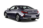 Car pictures of rear three quarter view of 2017 Honda Accord LX-S 2 Door Coupe Angular Rear