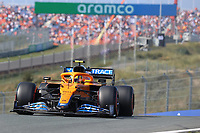 3rd September 2021: Circuit Zandvoort, Zandvoort, Netherlands;   FORMULA 1 HEINEKEN DUTCH GRAND PRIX 2021  Lando Norris GBR 4 , McLaren F1 Team