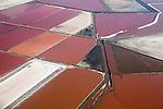 Salt ponds, Fremont, Bay Area, California
