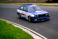 Round 9 of the 1991 British Touring Car Championship. #9 Laurence Bristow (GBR). BMW Team Labatt's. BMW M3.