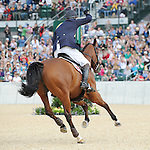 Rolex Kentucky Three-Day Event. Lexington, KY. Copyright Sarah K. Andrew/Eclipse Sportswire. William Fox-Pitt Phillip Dutton Becky Holder