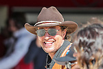 Actor Matthew McConaughey in action during the Formula 1 Emirates United States Grand Prix race held at the Circuit of the Americas racetrack in Austin,Texas.