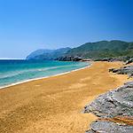 Spain, Murcia, Costa Calida, near Cartagena: Calblanque Beach | Spanien, Murcia, Costa Calida, (Heisse Kueste), bei Cartagena: Calblanque Beach