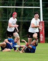 Saturday 4th September 20218 <br /> <br /> James Girvan during U18 Clubs inter-pro between Ulster Rugby and Leinster at Newforge Country Club, Belfast, Northern Ireland. Photo by John Dickson/Dicksondigital