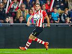 Nederland, Eindhoven, 27 oktober 2015<br /> KNVB Beker<br /> Seizoen 2015-2016<br /> PSV-Genemuiden<br /> Santiago Arias van PSV in actie met bal
