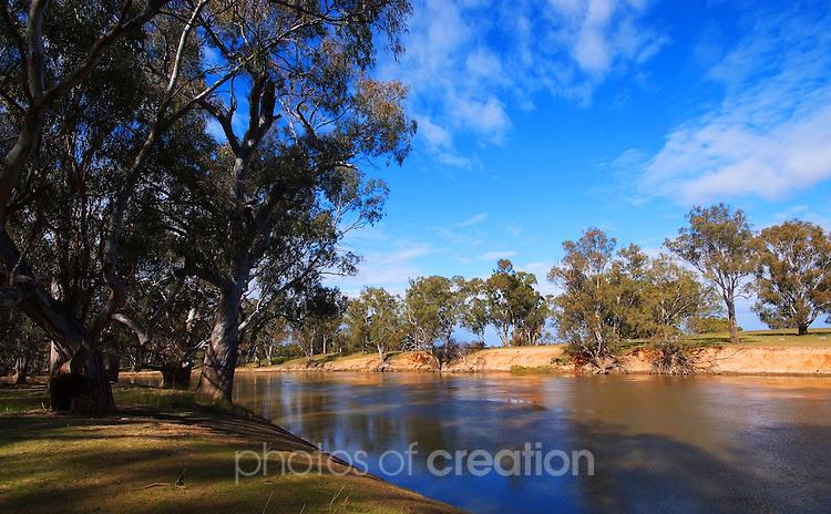 Murrumbidgee river near Narrandera NSW