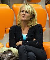 16-12-10, Tennis, Rotterdam, Reaal Tennis Masters 2010,  Astrid Hoofs de moeder van  Indy de Vroome