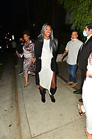 Laverne Cox Spotted at Craig's in Hollywood