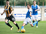 East Fife v St Johnstone…29.07.17… Bayview… Pre-Season Friendly<br />Stefan Scougall takes a shot at goal<br />Picture by Graeme Hart.<br />Copyright Perthshire Picture Agency<br />Tel: 01738 623350  Mobile: 07990 594431