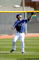 Ben Harrison  - Texas Rangers - 2009 spring training.Photo by:  Bill Mitchell/Four Seam Images